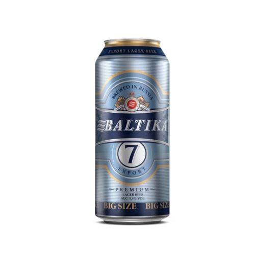 Bia Baltika 7 5% – Lon 900ml – Bia Nhập Khẩu