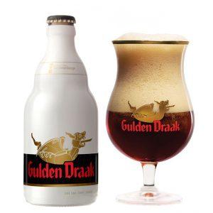 Bia Gulden Draak 10,5% - Chai 330ml - Thùng 24 Chai