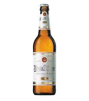 Bia Konig Pilsener 4,9% – Chai 330ml – Thùng 24 Chai