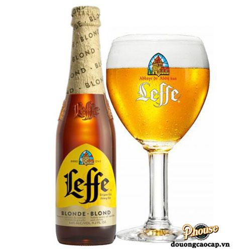 Bia Leffe Vàng 6,6% – Chai 330ml – Bia Nhập Khẩu