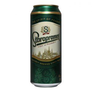 Bia Staropramen 5% – Lon 500ml - Thùng 24 Lon