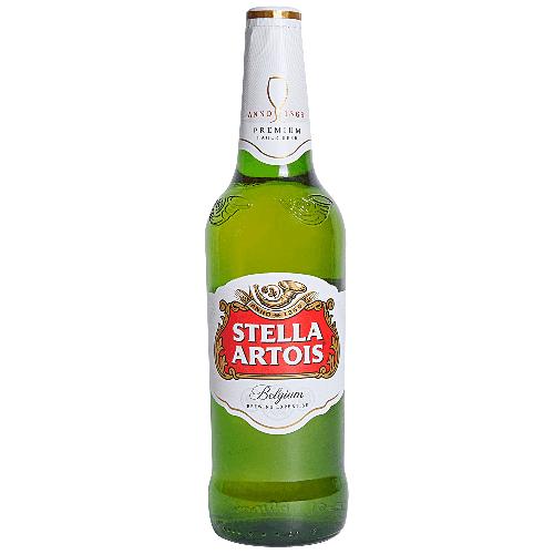 Bia Stella Artois 5% – Chai 330ml – Thùng 24 Chai 1