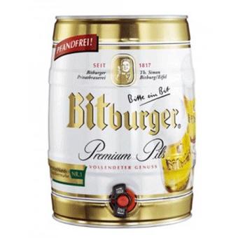 Bia Bitburger 5% – Bom 5l – Bia Nhập Khẩu
