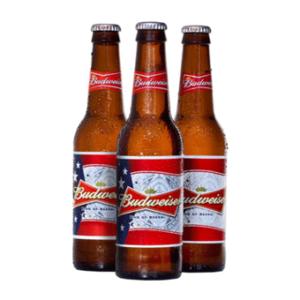Bia Budweiser 5 % - Chai 330 ml - Bia Nhập Khẩu