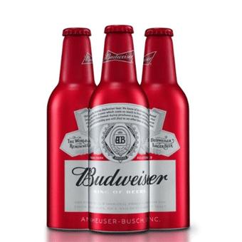 Bia Budweiser 5% – Chai nhôm 330ml – Bia Nhập Khẩu