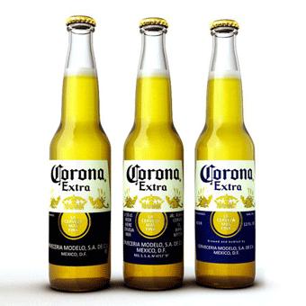 Bia Corona Extra 4,6% – Chai 355ml – Bia Nhập Khẩu