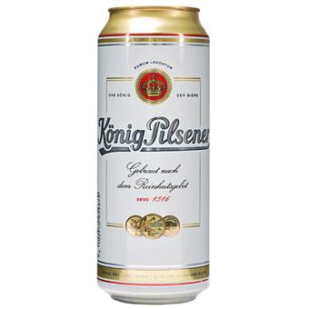 Bia Konig Pilsener 4,9% – Lon 500ml – Bia Nhập Khẩu
