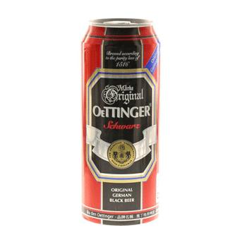 Bia Oettinger Đen 4,9% – Lon 500ml – Bia Nhập Khẩu