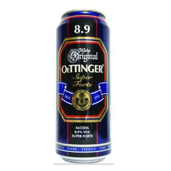 Bia Oettinger Nặng 8,9% – Lon 500m – Bia Nhập Khẩu