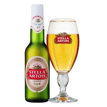 Bia Stella Artois 5% – Chai 330ml – Bia Nhập Khẩu