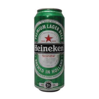 Bia Heineken Hà Lan 5% – Lon Cao 500ml – Bia Nhập Khẩu