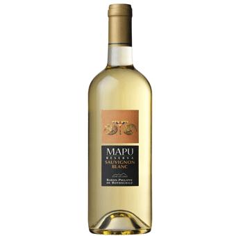Rượu Vang Mapu White 12,5% – Chai 750ml – Rượu Vang Nhập Khẩu
