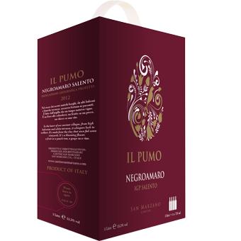 Rượu Vang IL Pumo 13,5% – Bịch 3000ml – Rượu Vang Nhập Khẩu