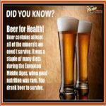 Uống Bia Như Thế Nào Là Tốt?