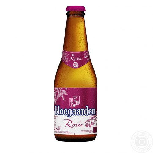 Bia Hoegaarden Rosee 3% – Chai 250ml -Bia Nhập Khẩu TPHCM