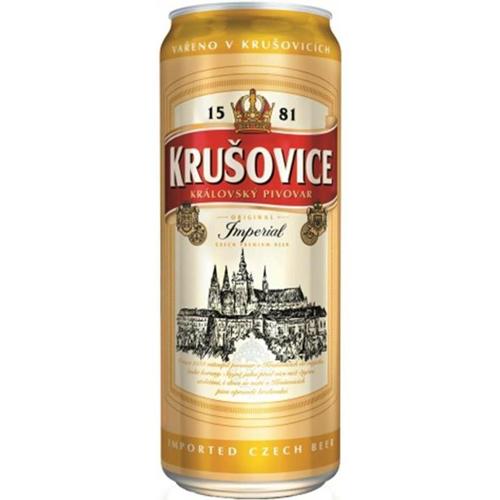 Bia Krusovice 5% – Lon 500ml – Bia Nhập Khẩu TPHCM