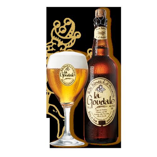 Bia La Goudale 7,2% – Chai 750ml