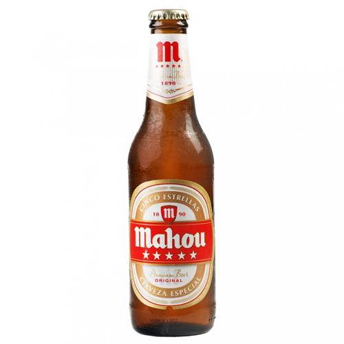 Bia Mahou 5,5% – Chai 250ml