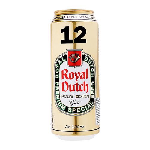 Bia Royal Dutch Gold Super Strong 12% – Lon 500ml