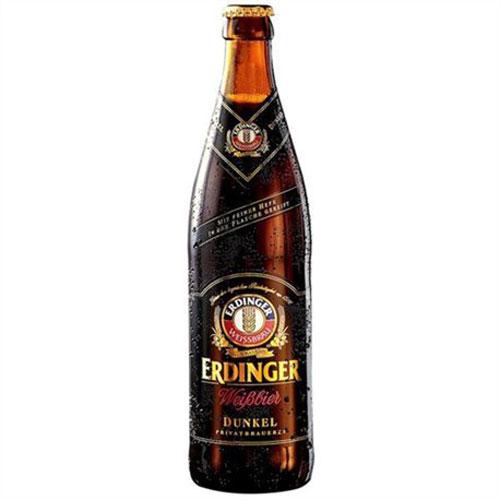Bia Erdinger Weibbier Dunkel 5,3% – Chai 500ml