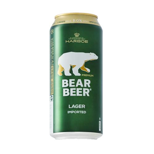 Bia Gấu Bear Beer Dark Wheat 5,4% – Lon 500ml