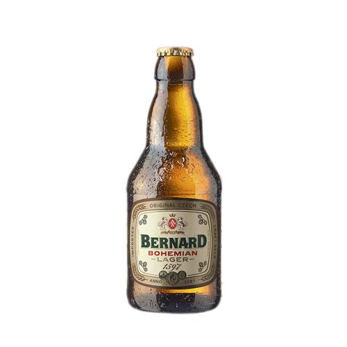 Bia Bernard Bohemian Lager 4,9% – Chai 330ml