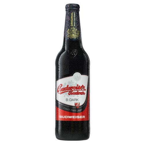 Bia Budweiser Budvar Dark 4,7% – Chai 330ml