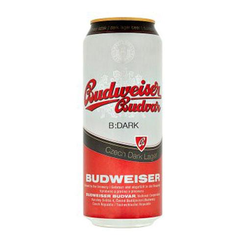 Bia Budweiser Budvar Dark 4,7% – Lon 500ml