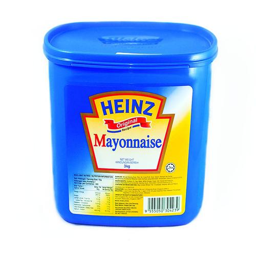 Sốt Mayonnaise Heinz – Hộp 3 Kg