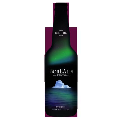 Bia Borealis Rare Iceberg 5% – Chai 355ml
