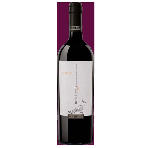Rượu Vang Cantina Diomede Canace Nero Di Troia 13,5% – Chai 750ml
