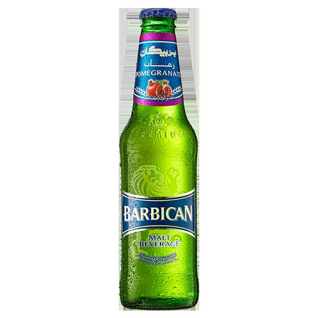 Bia Barbican Không Cồn Hương Lựu