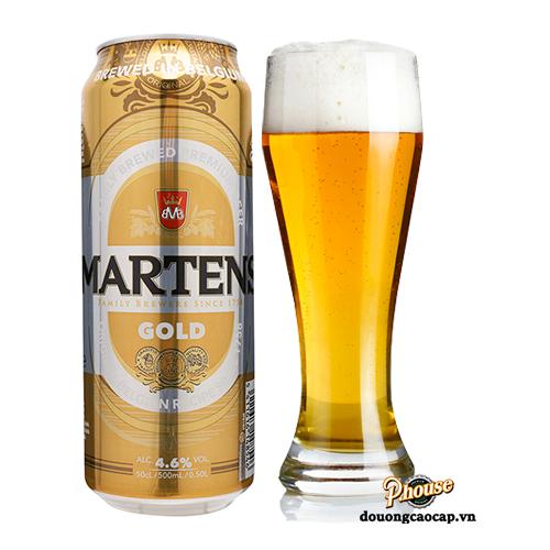 Bia Martens Gold 4.6% – Lon 500ml – Thùng 24 Lon