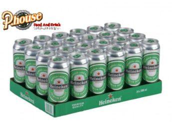 Bia Heineken 500ml giá bao nhiêu