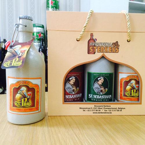 bia quà tặng