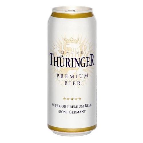 Bia Thuringer Premium 4.3% – Lon 500ml – Bia Nhập Khẩu TPHCM