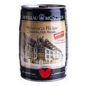 Bia Hofbräu Schwarze Weisse