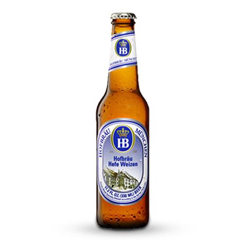 Bia Hofbrau Hefe Weizen 5.1% – Chai 330ml – Thùng 24 Chai