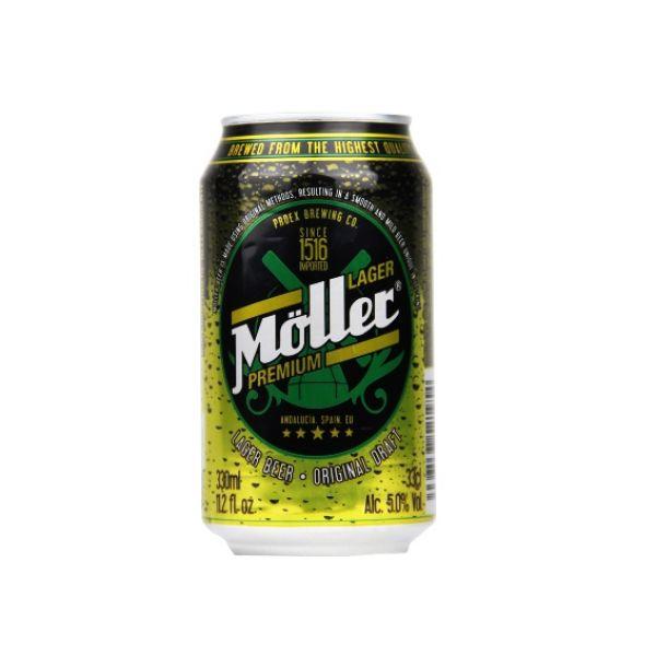 Bia Moller Lager Premium 5% – Lon 330ml – Thùng 24 Lon