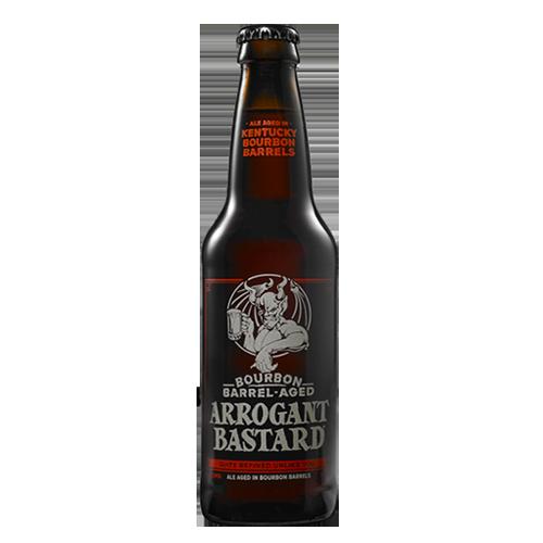 Bia Stone Bourbon Barrel Aged Arrogant Bastard 8.1% – Chai 355ml – Bia Mỹ Nhập Khẩu TPHCM