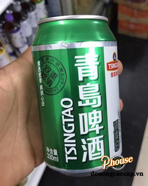 Bia Tsingtao 4.8% – Lon 330ml – Thùng 24 Lon