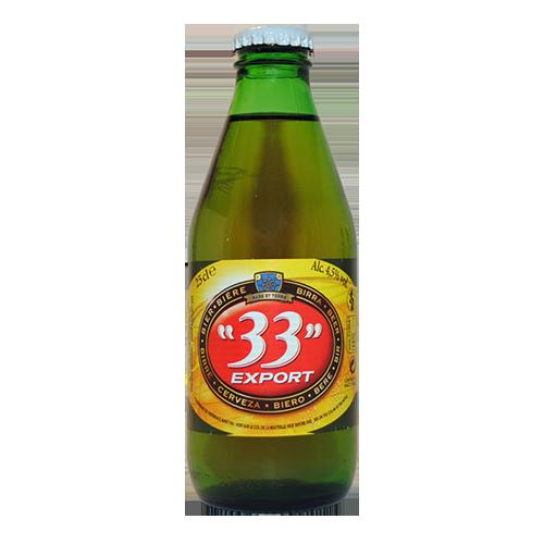 Bia 33 Export 4.5% – Chai 250ml – Bia Pháp Nhập Khẩu TPHCM