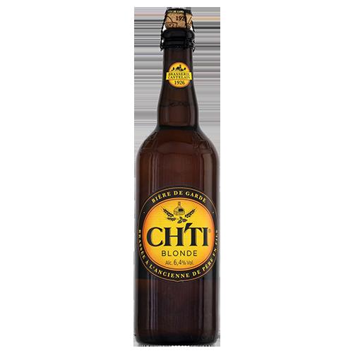 Bia CH'TI Blonde 6.4% – Chai 750ml – Bia Pháp Nhập Khẩu TPCHCM