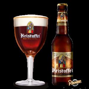 Bia Kristoffel Blond 6% - Chai 330ml - Bia Bỉ Nhập Khẩu TPHCM