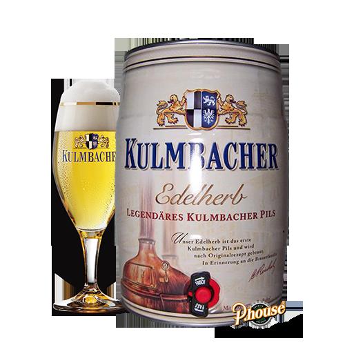 Bia Kulmbacher Edelherb 4.9% – Bom 5l – Bia Đức Nhập Khẩu TPHCM