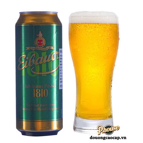 Bia Eibauer Pilsner 4.8% – Lon 500ml – Bia Đức Nhập Khẩu TPHCM
