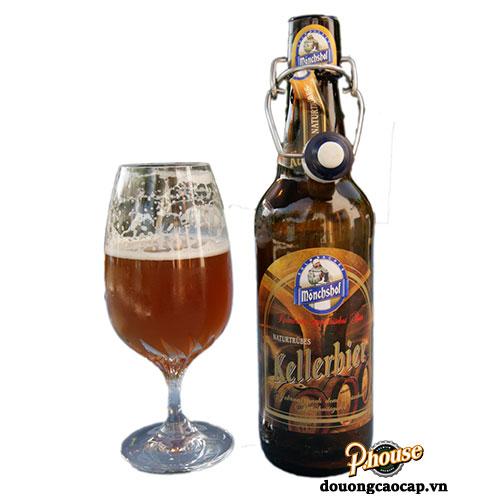 Bia Mönchshof Kellerbier 5.4% – Chai 500ml – Bia Đức Nhập Khẩu TPHCM