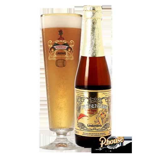 Bia Lindemans Pecheresse 2.5% – Chai 250ml – Bia Bỉ Nhập Khẩu TPHCM