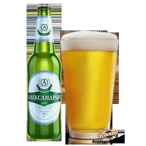 Bia Aleksandrya 5.5% – Chai 500ml – Bia Nga Nhập Khẩu TPHCM