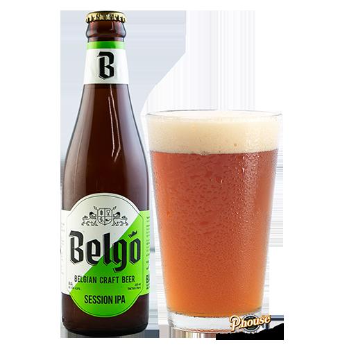 Bia Belgo Session IPA 4.9% – Chai 330ml – Bia Thủ Công TPHCM